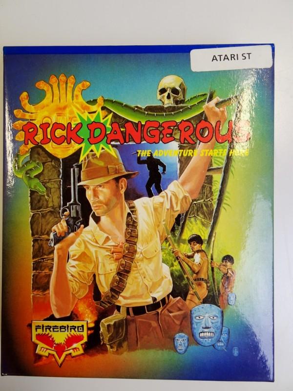 Rick dangerous - Atari ST