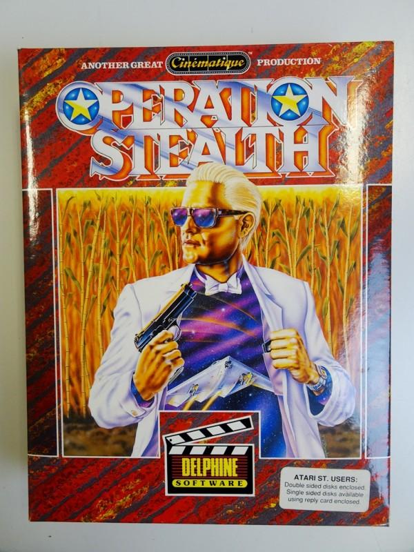 Operation stealth - Atari ST