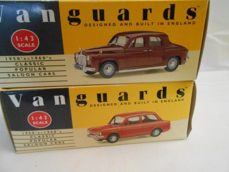 2 Miniaturen Engelse wagens