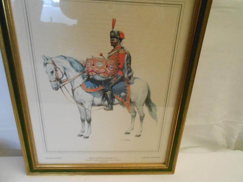Afdruk Historische gala uniformen