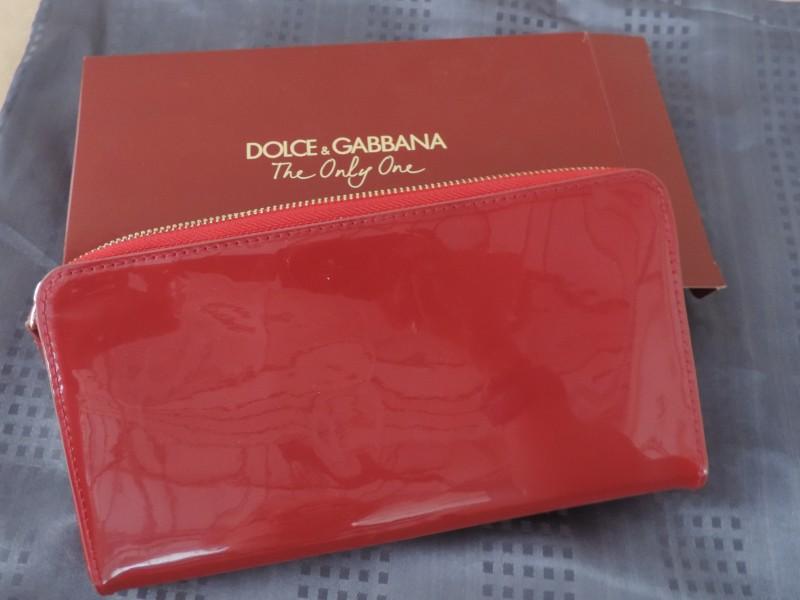 "Toiletzakje getekend ""Dolce & Gabbana"""