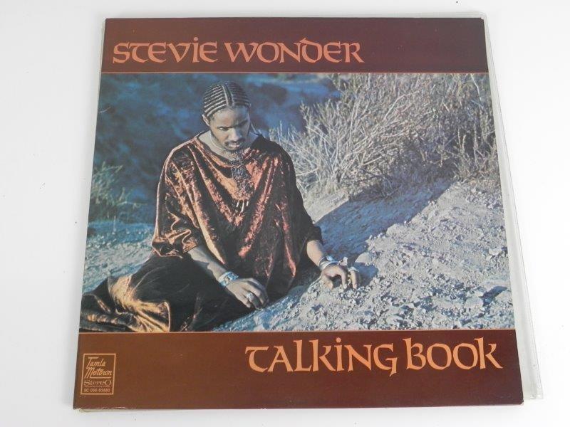 "Stevie Wonder – Talking Book (LP"")"