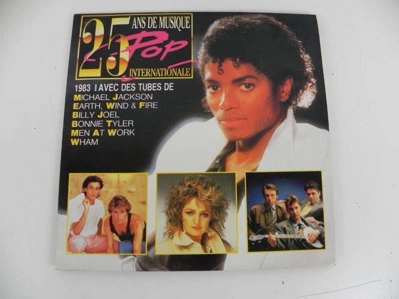 """Michael Jackson – 25 Ans De Musique (LP"""")"""