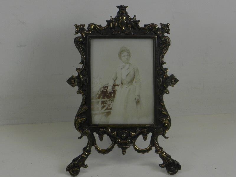 Vintage fotolijst brons