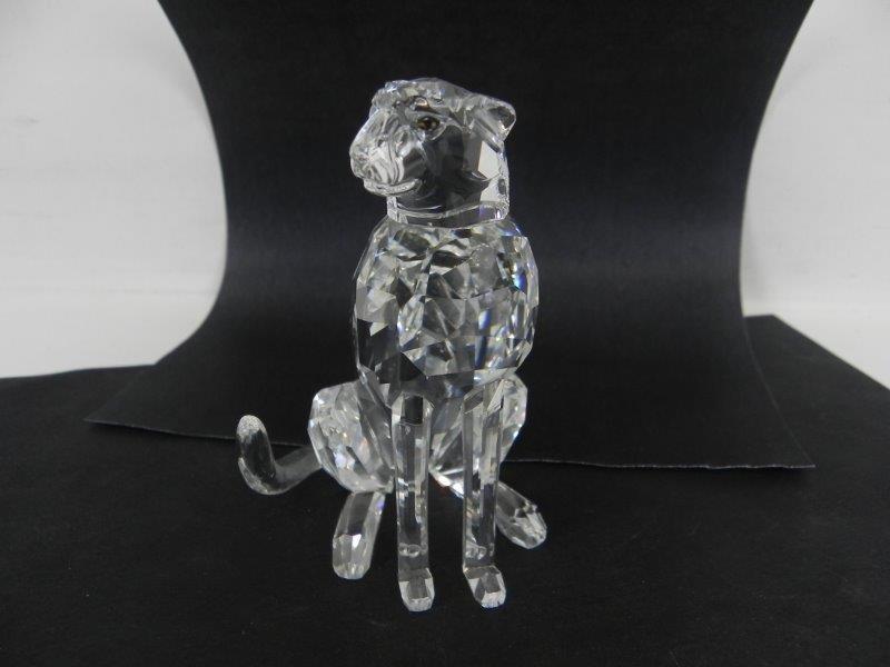 Kristallen luipaard - Swarovski