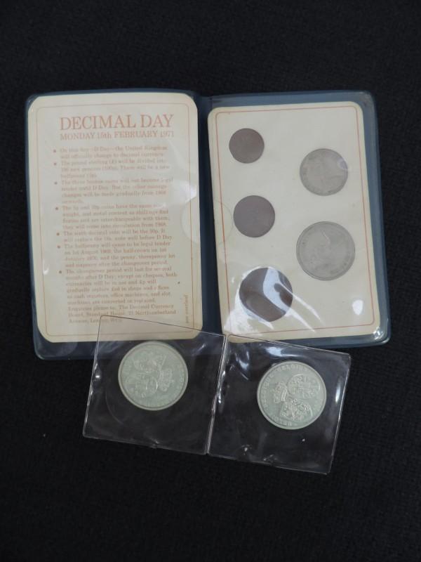 Britse eerste decimale munten