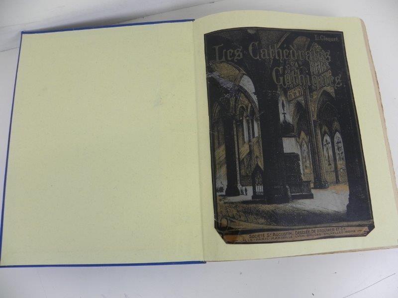 Boek Les cathédrales gotiques - L. Cloquet