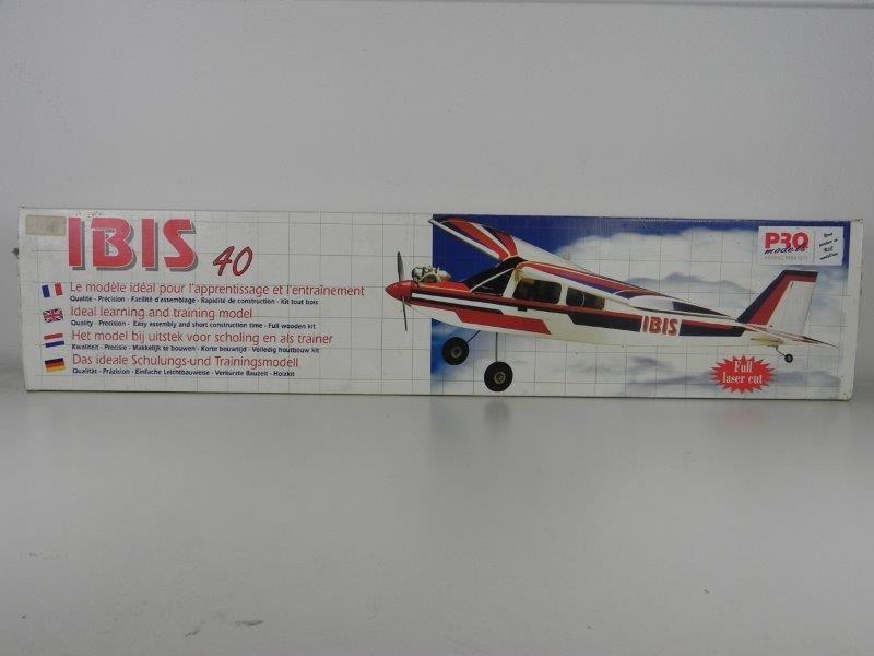 Houten vliegtuig kit Ibis 40