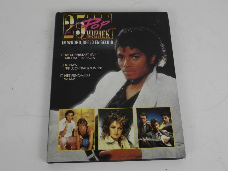 Michael Jackson – 25 Jaar POP muziek 1983 (Boek)