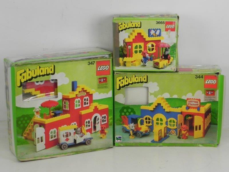 Lot Lego Fabuland