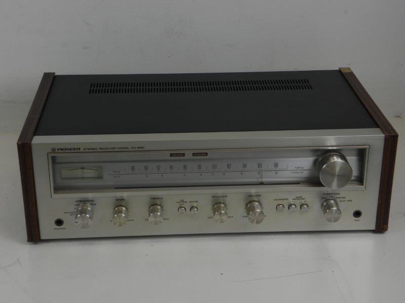 Tuner-Versterker Pioneer SX-550