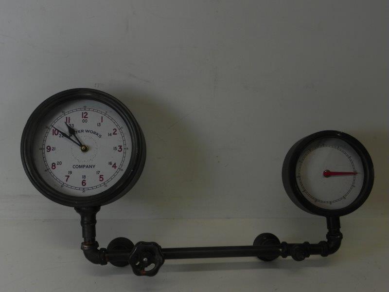 Waterleiding klok