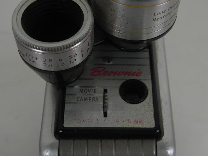 Kodak Brownie 8mm movie camera 2