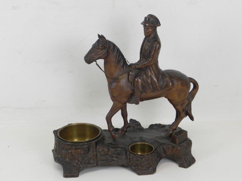 Messing Napoleon op zijn paard