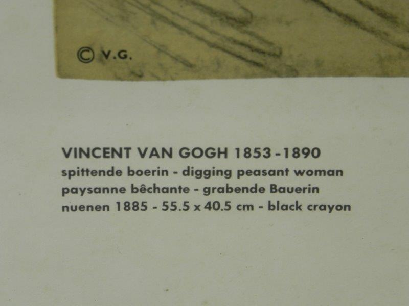 Print Vincent van Gogh - Kader met glas