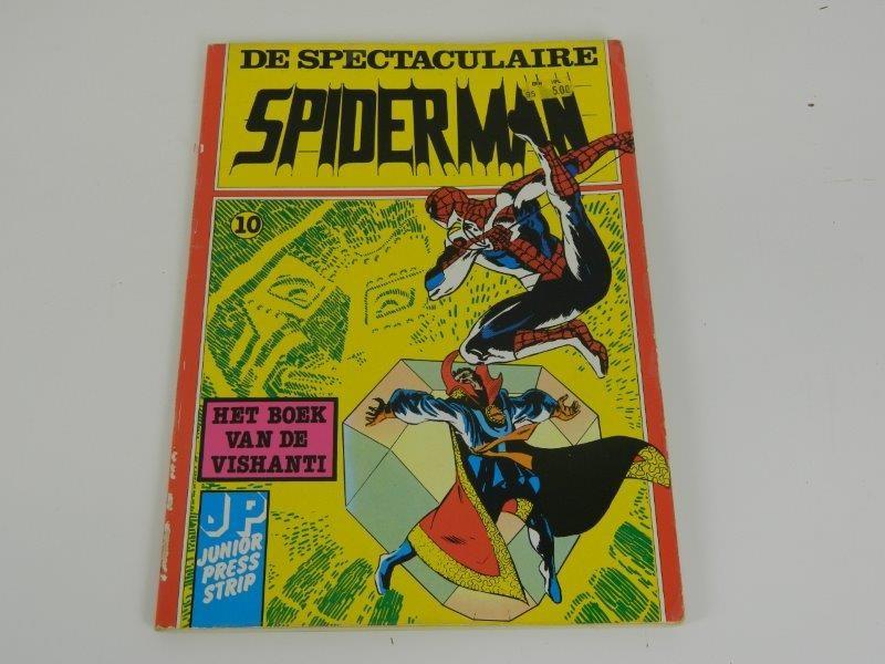 Spiderman - Het boek van de Vishanti