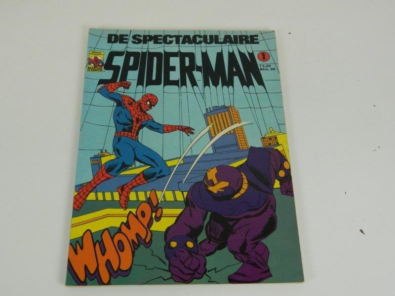 Spiderman - Een hoofd op hol