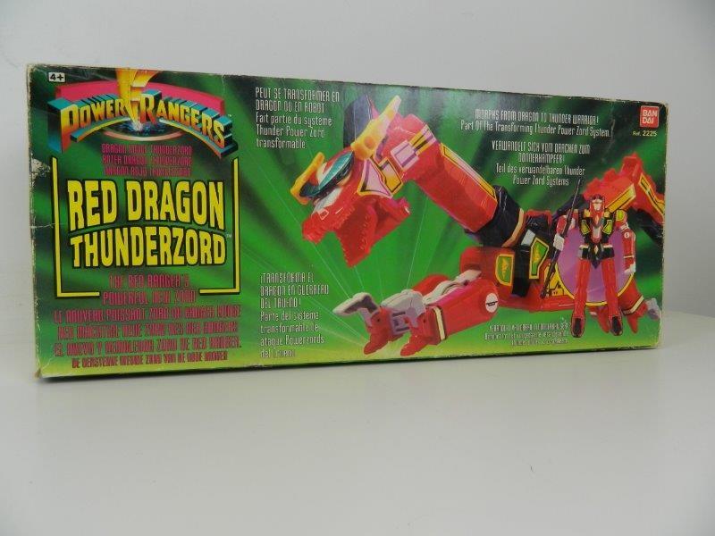 Bandai power rangers - red dragon thunderzord