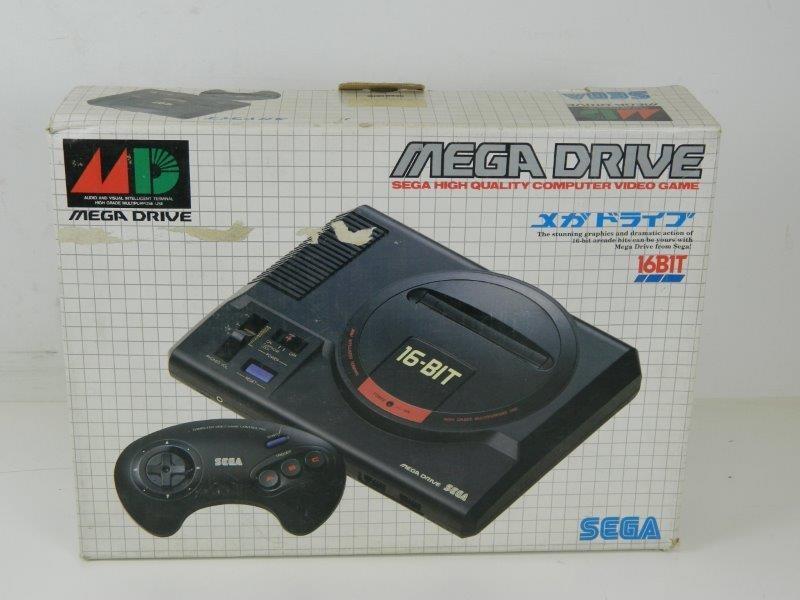 Sega mega drive console 16bit