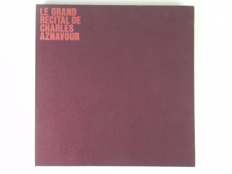 BOX (3xLP) Charles Aznavour -  Le Grand Recital de