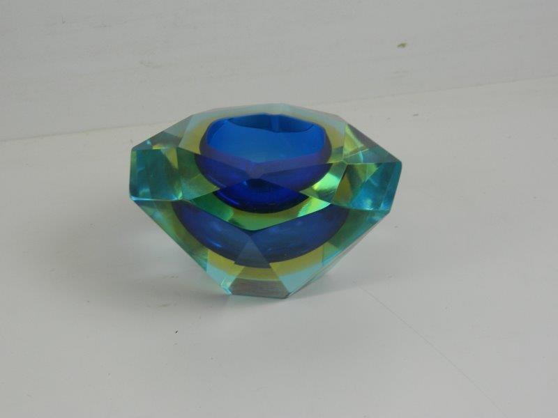 Kristallen asbak