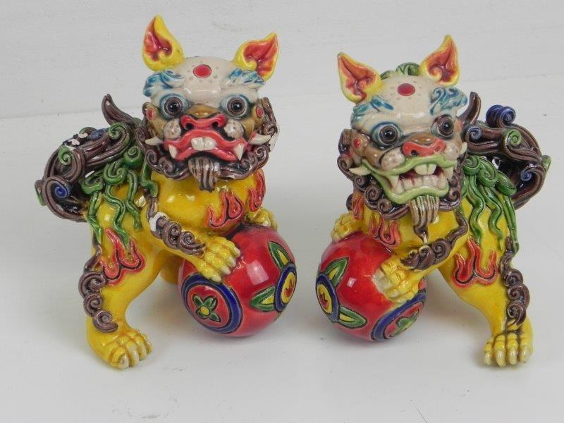 2 Foo dog - Cochin Koji