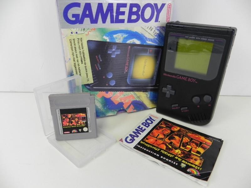 Nintendo Game Boy Wrestling rudest and roughest