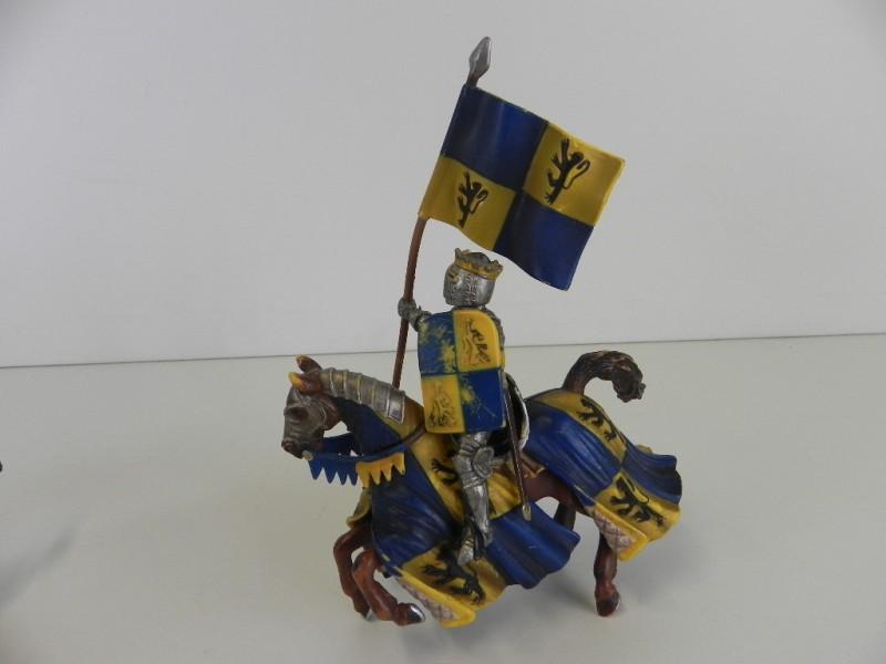 Lot Schleich figuren ridders te paard