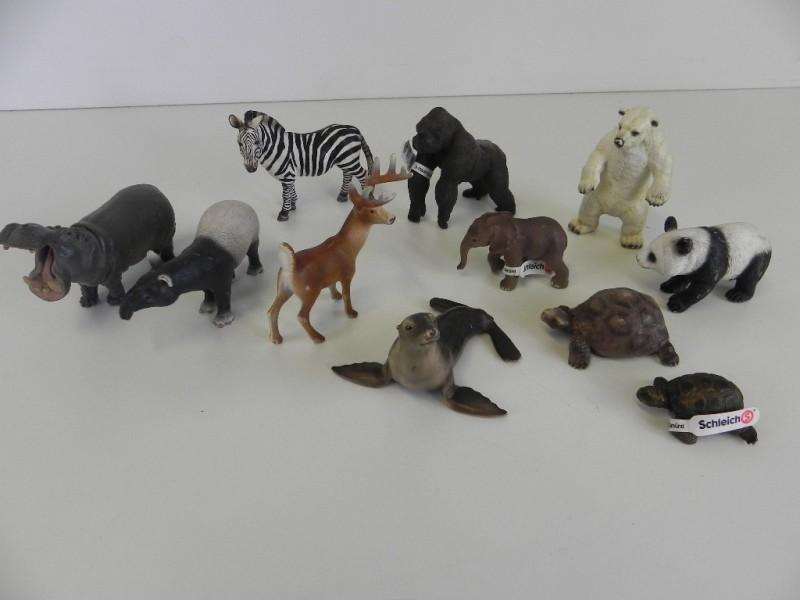 Lot Schleich figuren zoo dieren
