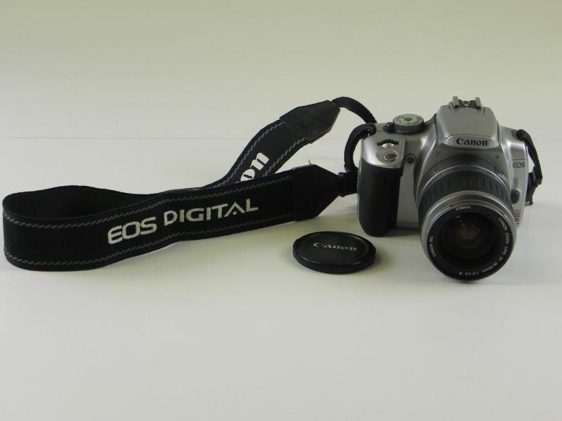 Canon EOS Digital Rebel XTi Fotocamera
