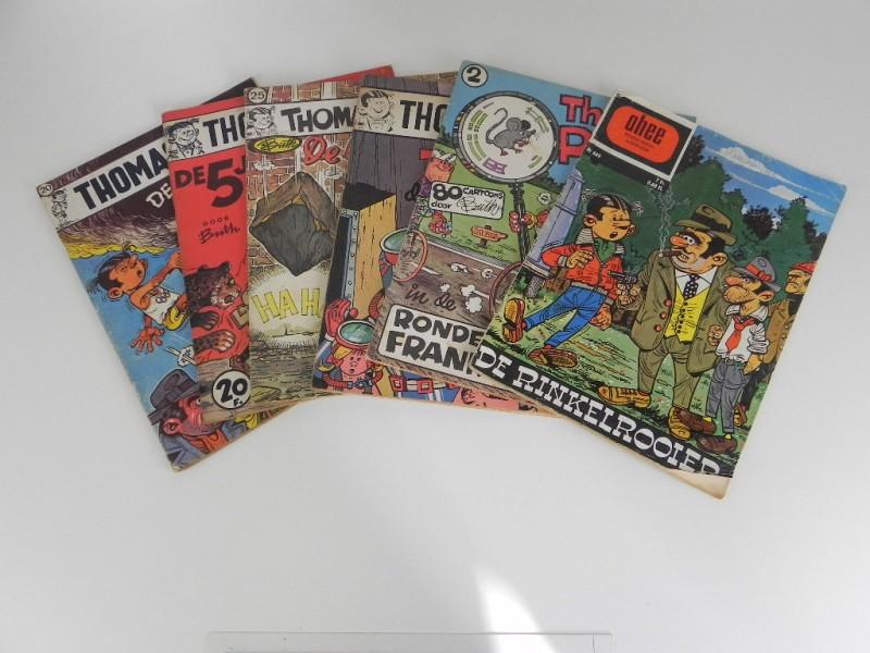 Buth: Thomas Pips 6 strips jaren '60