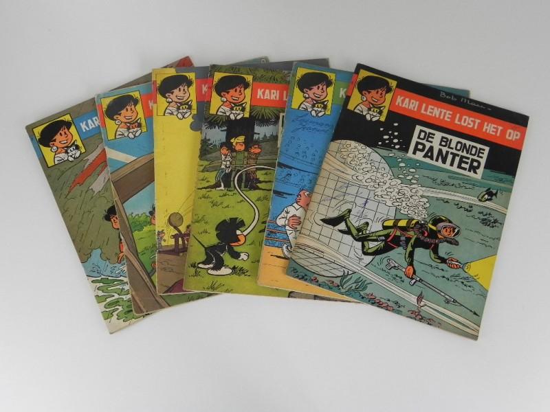 Bob Mau: Kari lente 6 strips  jaren '60