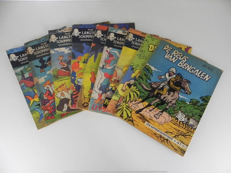 Jef Nys: 9 strips eerste druk jaren '60