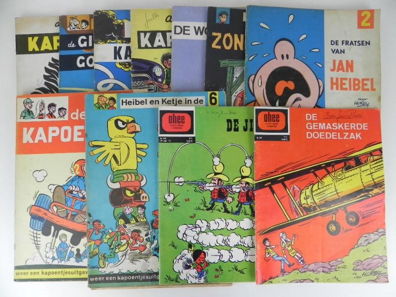 Lot Hurey: 15 albums Ketje, Lustige kapoentjes, enz. jaren '70