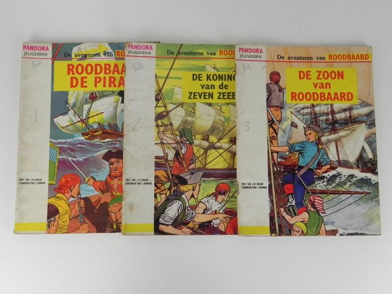Pandora jeugdserie: Roodbaard eerste drie verhalen 1965