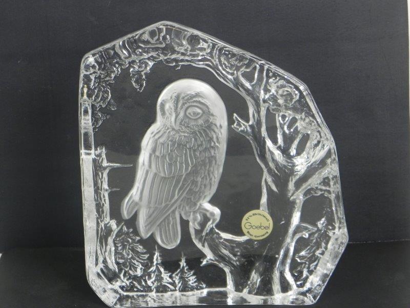 Goebel kristal beeld
