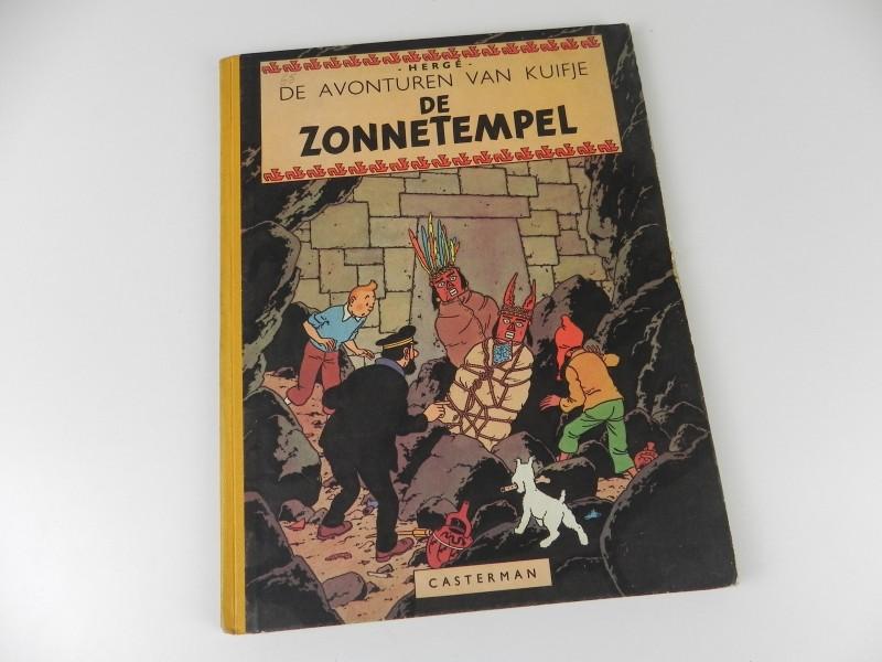 Hergé: Kuifje: de zonnetempel 1949 eerste druk