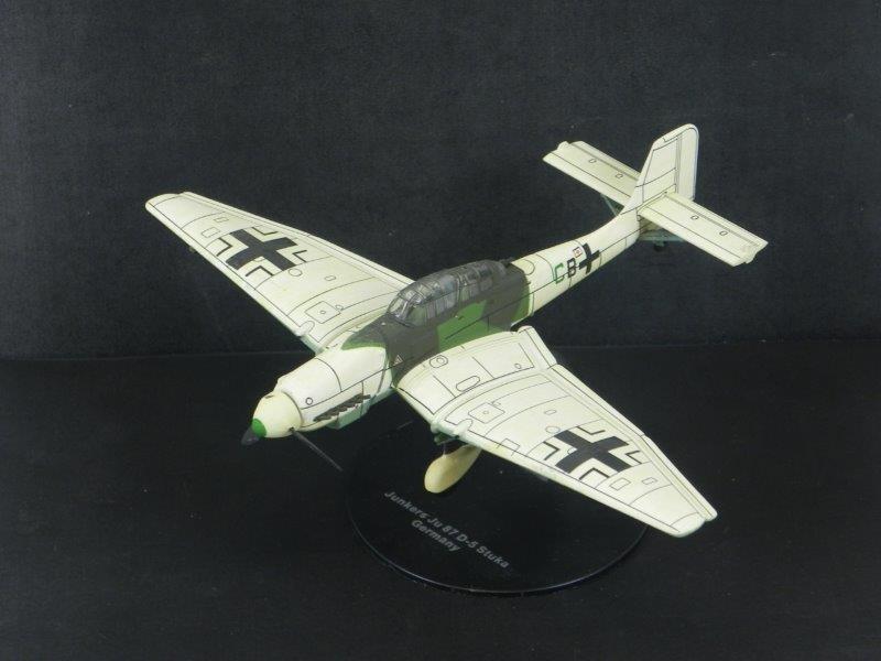 Modelbouw Junkers Ju 87 D-5 Stuka