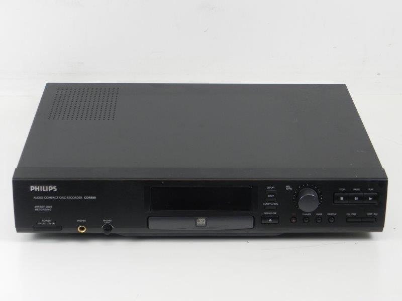 Dvd Speler Philips CDR880