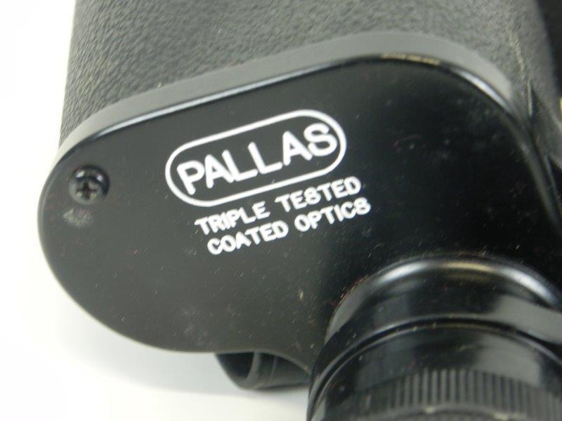 Pallas verrekijker met lederen tas