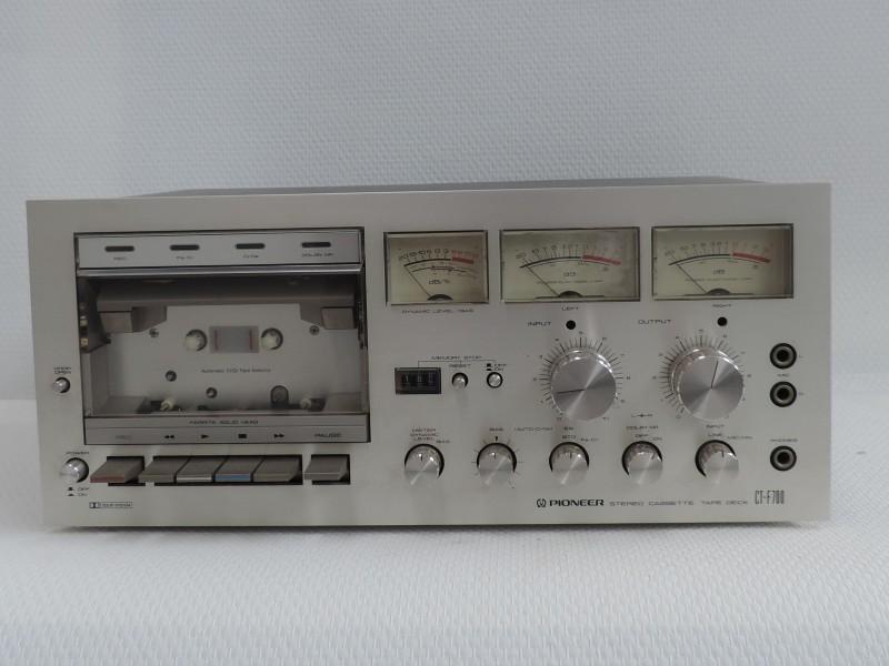 PIONEER CT-F700 CTF700 Cassettedeck 1978-9 Vintage