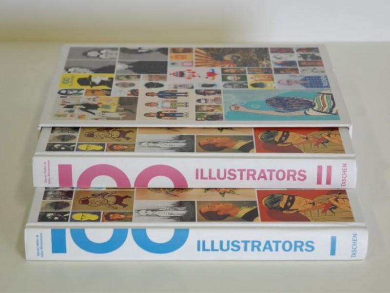 TASCHEN - 100 Illustrators - 2 volumes - 3 talen