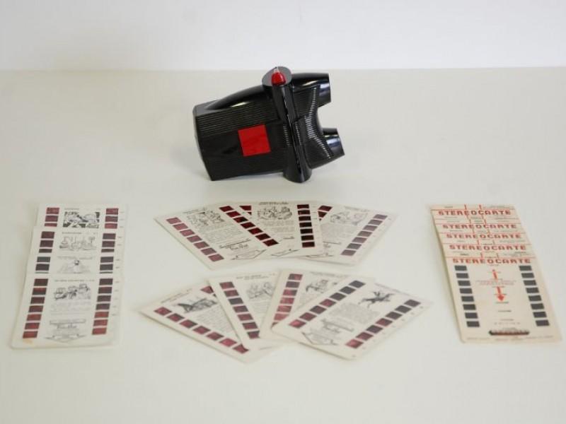 Tru-Vue view-master 1956 + 17 schijfjes
