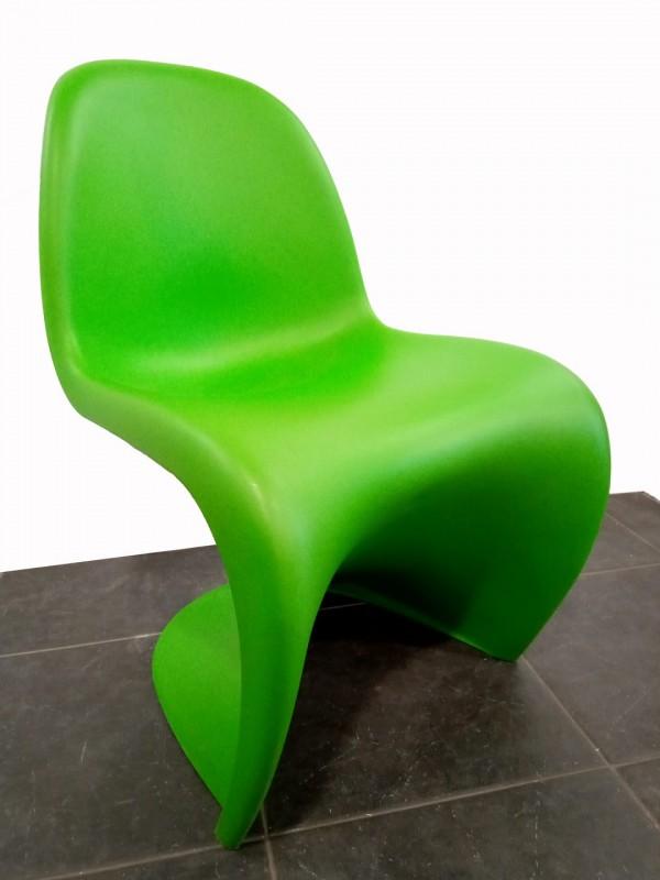 "Design ""Panton"" chair, special edition ; 'summer green'"