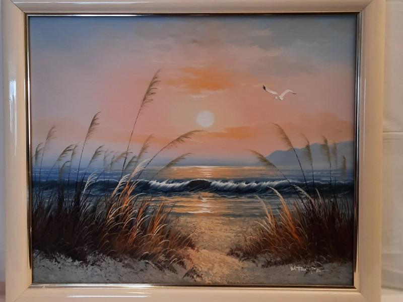 Griekse-Schilderij-Zee