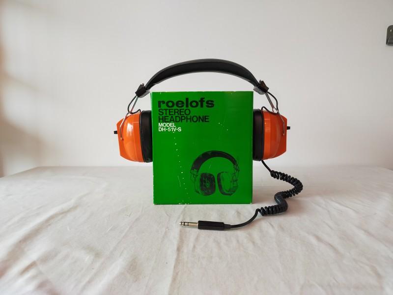 Roelofs stereo headphone model DH-51V-S hoofdtelefoon