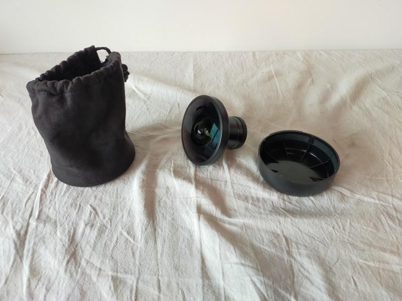 Nikon fisheye converter FC-E9 0.2x