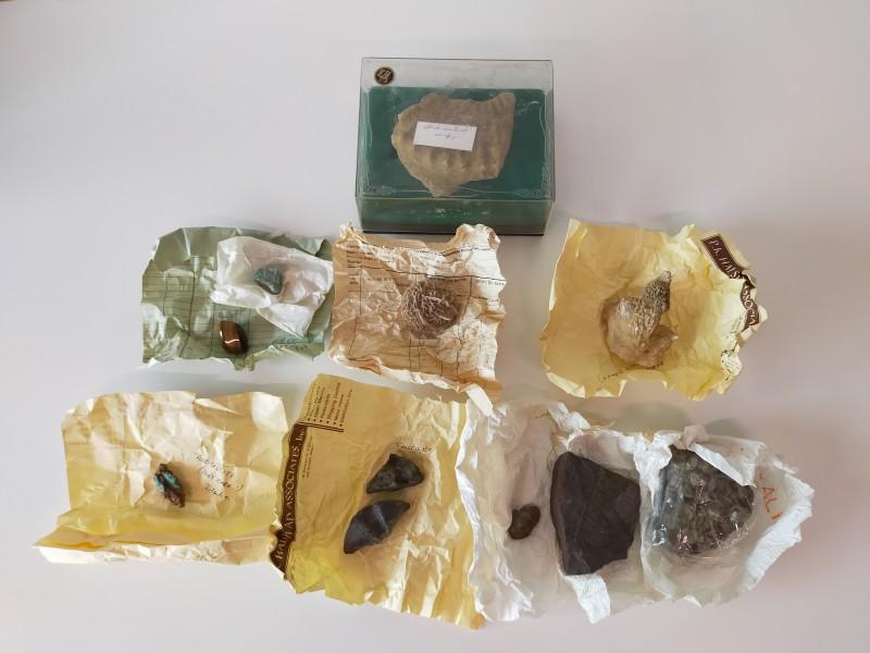 Fossielen en kristallen