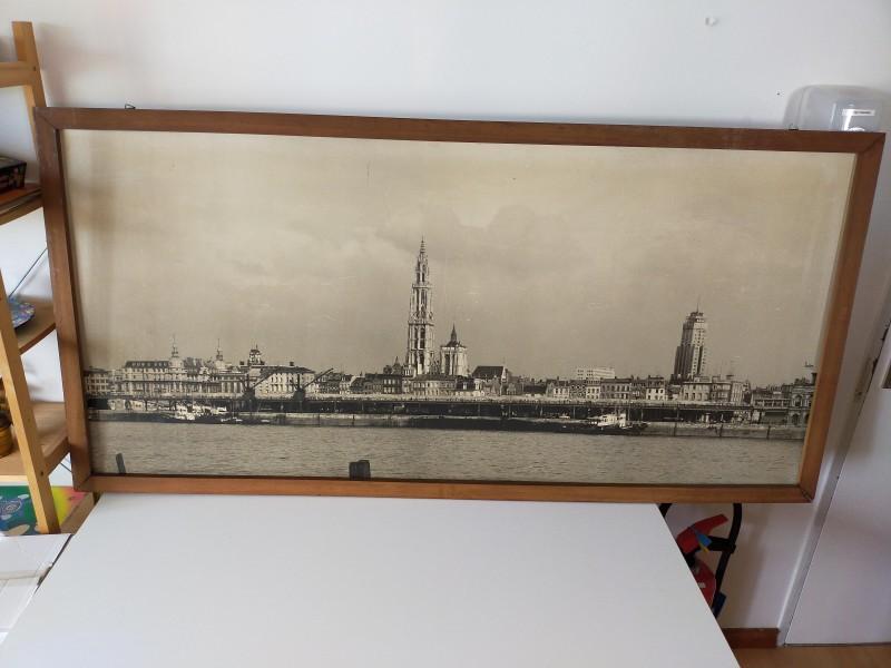 Oude skyline Antwerpen