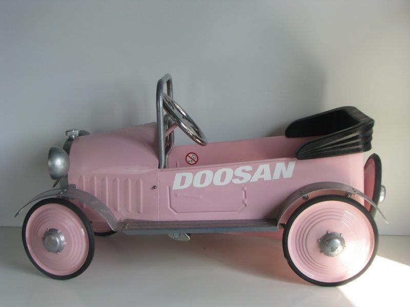 Airflow Collectables Pink Princess auto met pedalen